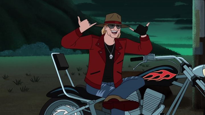 Axl Rose, invitado de Scooby Doo