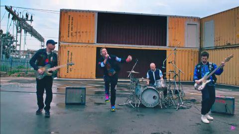 Coldplay estrenó un tema desde el espacio