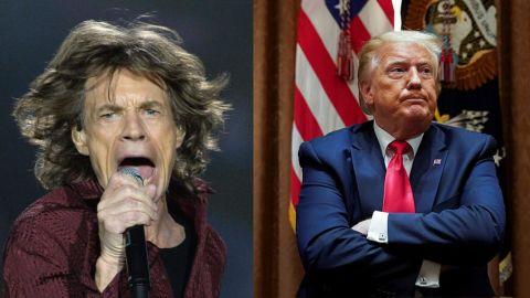 Los Stones contra Trump