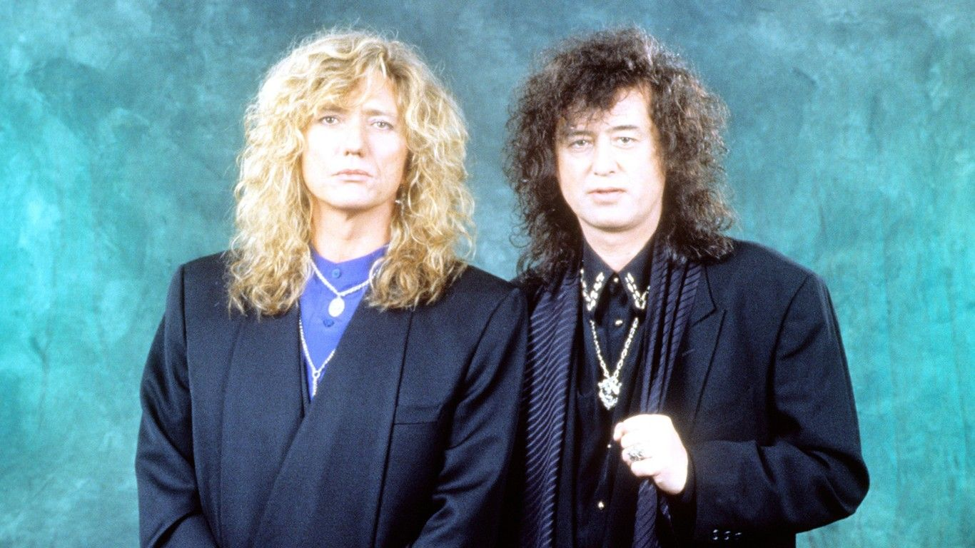 David Coverdale quiere relanzar su disco con Jimmy Page