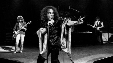 Black Sabbath relanza sus primeros discos con Dio
