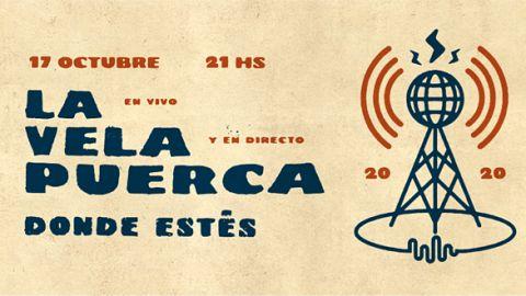 La Vela Puerca anuncia su primer show por streaming