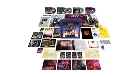 Kiss festeja los 45 años de Destroyer