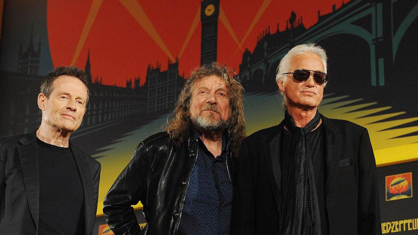 El regreso de Led Zeppelin en streaming