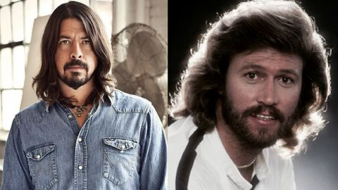 Foo Fighters hizo un cover de los Bee Gees