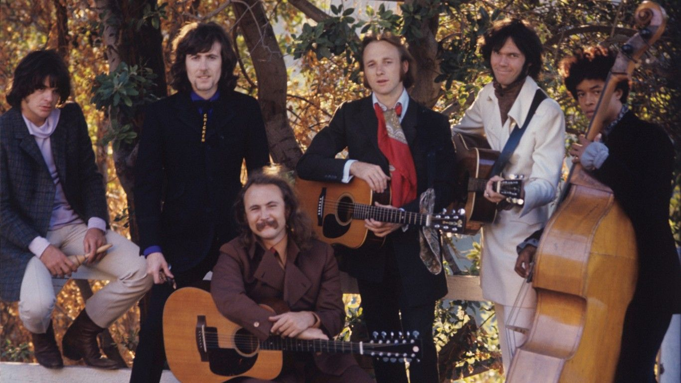 Crosby, Stills, Nash & Young reeditan Déjà Vu