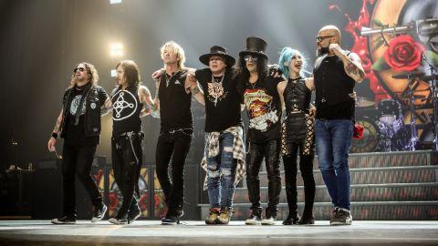 Guns N' Roses volvió a reprogramar
