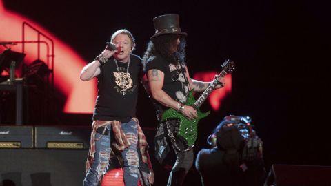 Guns N' Roses estrenó un tema en vivo