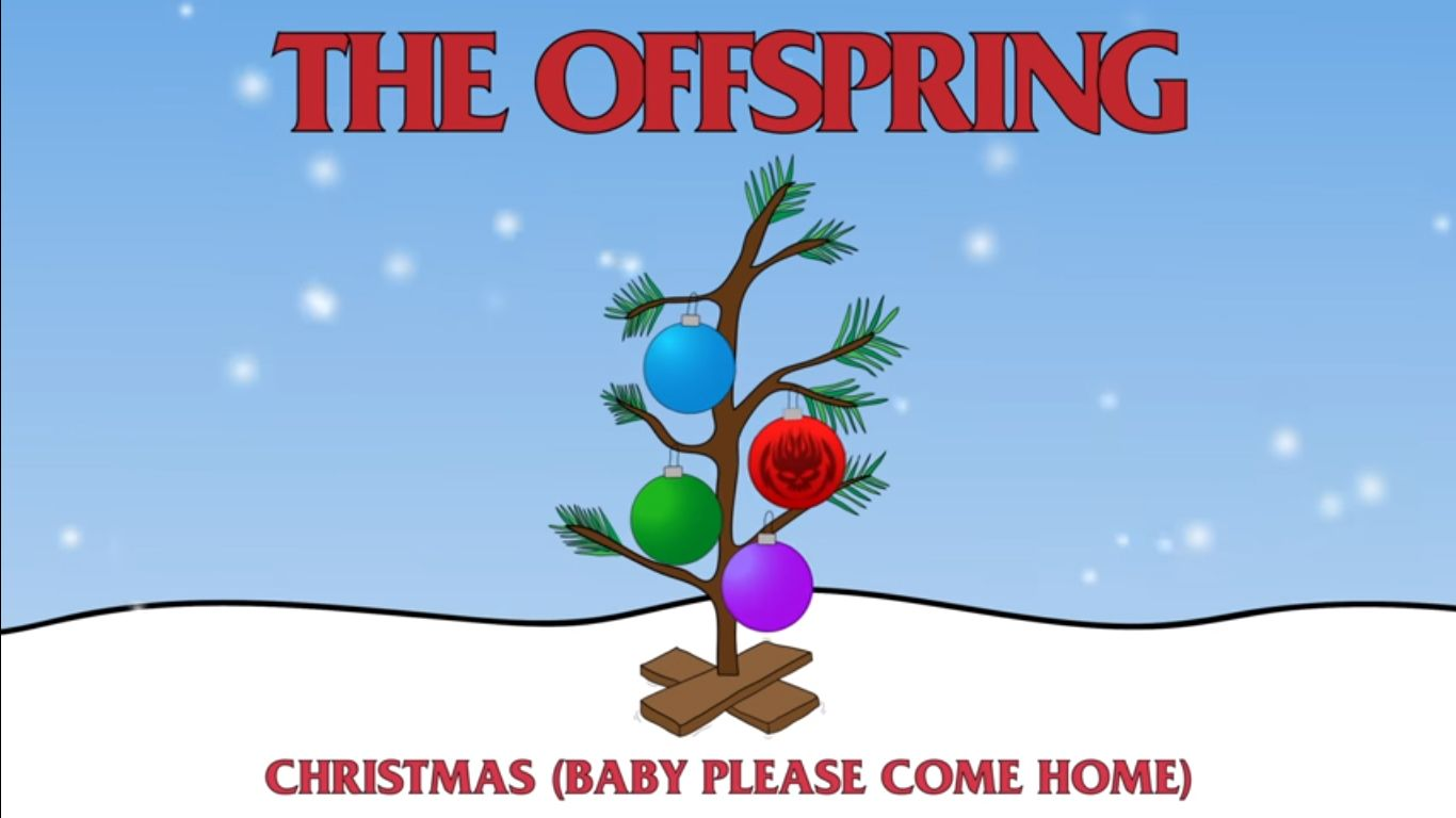 Cover navideño de The Offspring