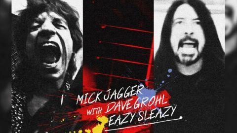 Mick Jagger publicó un tema junto a Dave Grohl