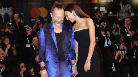 Se casó Thom Yorke