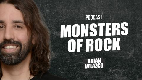 Monsters of Rock #23 Dani Filth rapeando