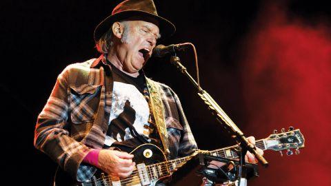 Neil Young publicará un disco grabado hace 46 años