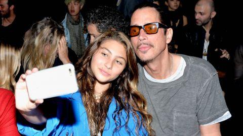 Imágenes inéditas de Chris Cornell con su hija