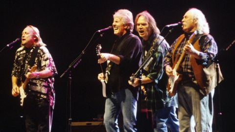 Inédito de Crosby, Stills, Nash & Young