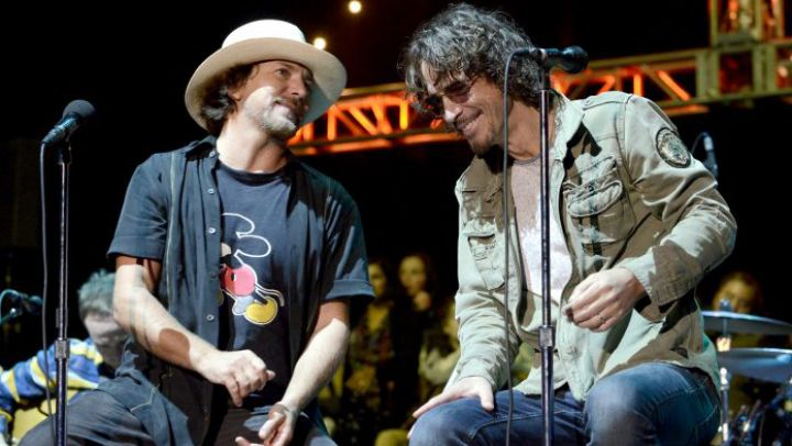 Eddie Vedder recordó a Chris Cornell
