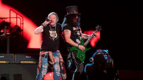Guns N' Roses publicó Hard Skool