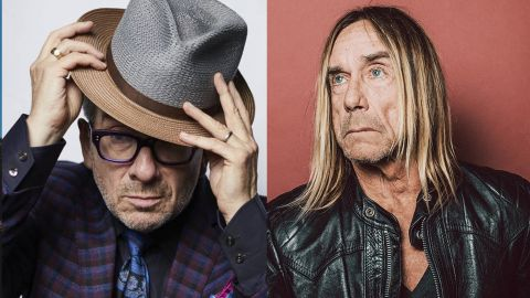 Colaboración de Iggy Pop y Elvis Costello