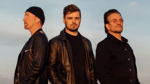 Bono y The Edge estrenaron tema junto a Martin Garrix