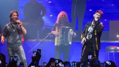 Javier Calamaro y Ulises Bueno, juntos