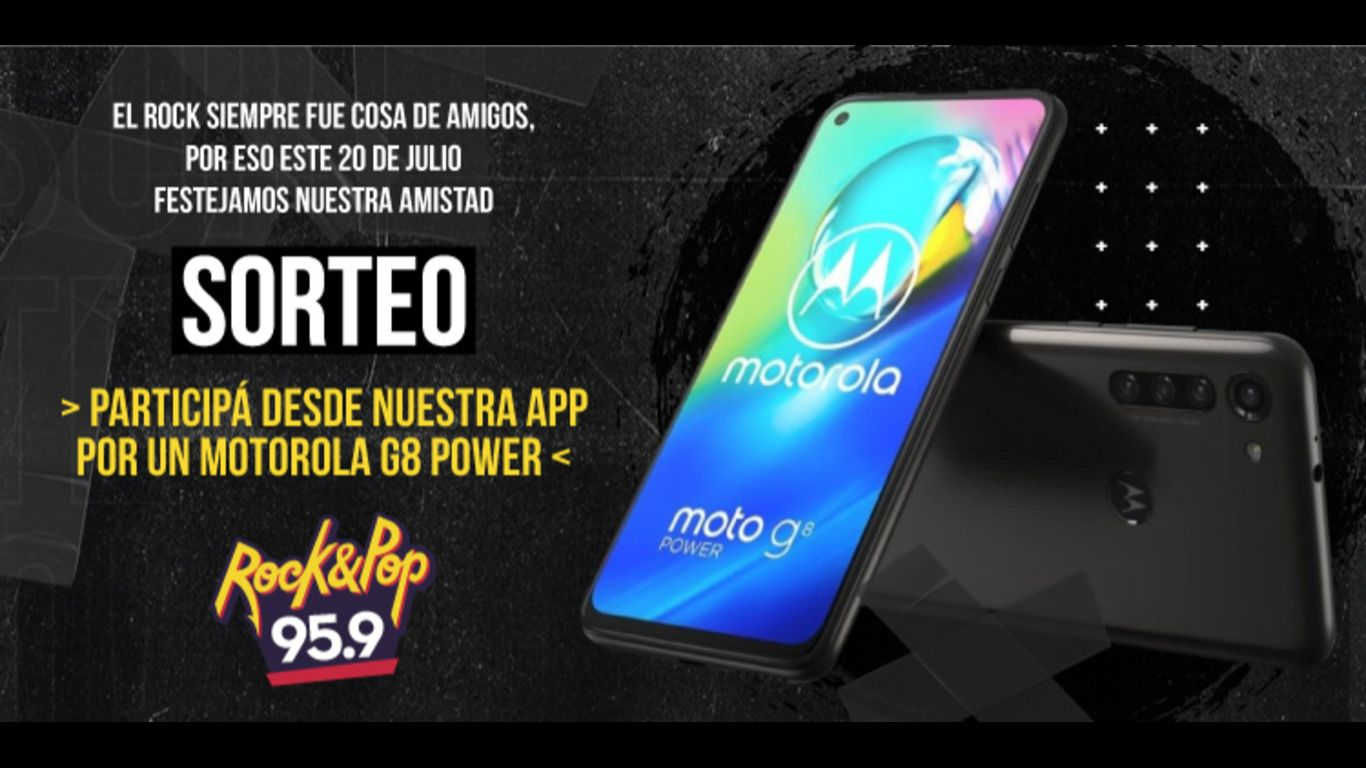 ¡Sorteo! Motorola G8 Power