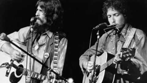 Lanzamiento sorpresa de Bob Dylan y George Harrison