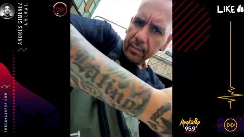 Andrés Giménez en Rock & Pop