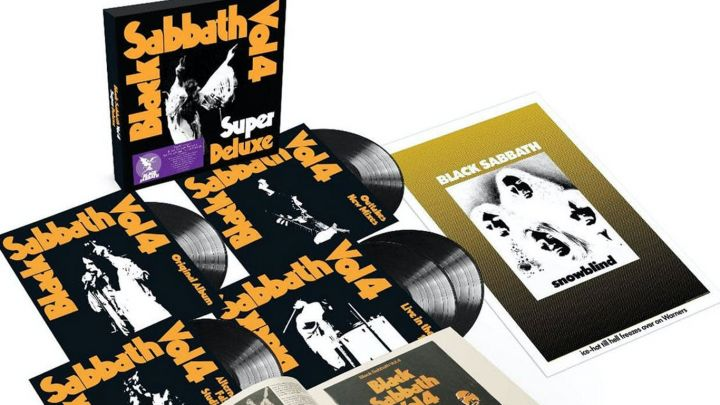 Black Sabbath relanza Vol. 4