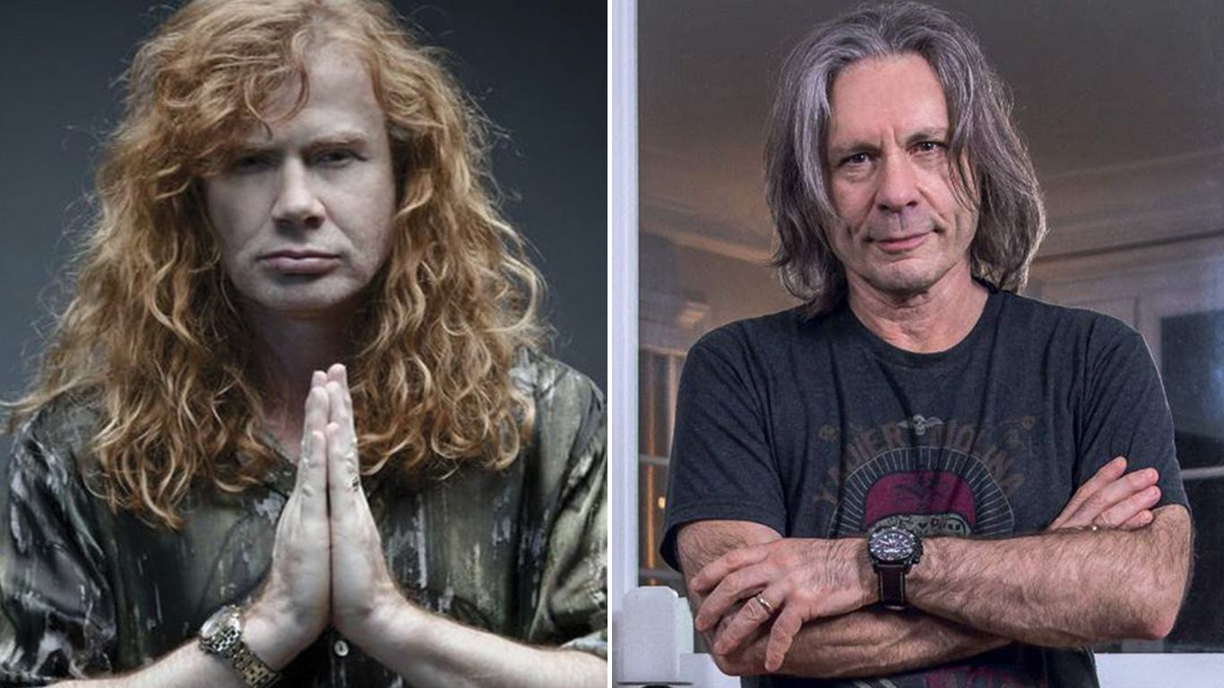 Dave Mustaine le pidió consejos a Bruce Dickinson