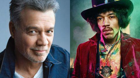 Versión inédita de un cover de Hendrix por Eddie Van Halen