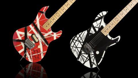 Subastan dos guitarras de Eddie Van Halen