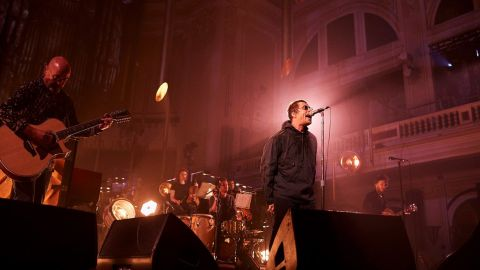 Liam Gallagher presentó su MTV Unplugged