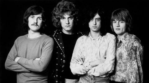 Apareció material perdido de Led Zeppelin